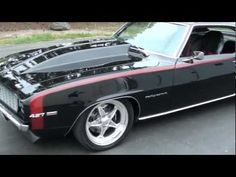 I WANT!!!!   1969 Chevrolet Camaro RS/SS $125,500.00