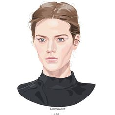 love your face Celebrity Portraits, Art Model, My Drawings, Illustrator, Digital Art, Face, Color, Illustrators, Colour