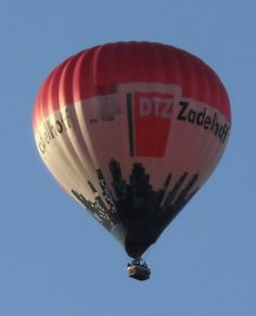 PH-DZB Zadelhoff Luchtballon Amersfoort