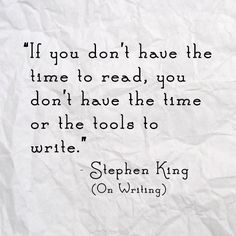StephenKing  Hey Rowena, hoping you don't mind but I've gone back to school and your writing board is going to be viewed a huge amount this semester!