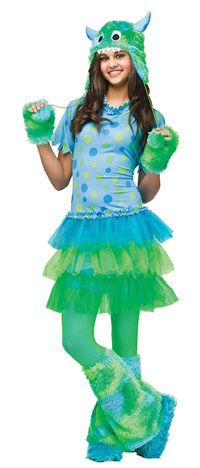 Monster Miss Teen Girls Costume – Teenage Costumes+ « Mutant Faces