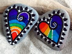 Rainbow Connection Magnets - Set of Two We Belong Together