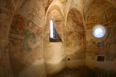 The church of light, Velemér, Hungary Built in the late century this Romanesque and early Gothic edifice has become world famous thanks to the frescos created by John Aquila around John. Church Of Light, Romanesque, Hungary, Fresco, Budapest, Architecture, Building, Travel, Painting