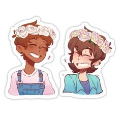 Pastel Klance Edit Sticker<<< ARE THOSE THE DAN AND PHIL PASTEL OUTFITS