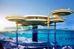El 'Water Discus Hotel' es un proyecto que está en desarrollo y que contaría con 21 habitaciones bajo el agua mientras que otra parte del hotel estaría sobre el mar.  La constructora de Dubai World, Drydocks World, ha firmado un memorando de entendimiento con la compañía suiza BIG InvestConsult AG para poner en marcha el primer hotel subacuático del mundo, según informa la constructora a través de una nota de prensa.