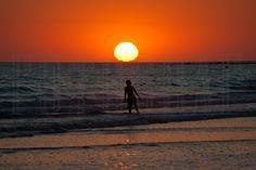Playa La Barrosa, Chiclana de la Frontera, Cádiz. Foto: Teresa Soria.