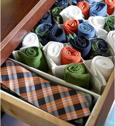 Storage for Ties and Socks