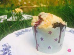 Muffins aux myrtilles de Pierre Hermé, meilleurs qu'au Starbuck ! Je me damnerais pour les muffins aux myrtilles du Starbuck, voilà c'est dit !
