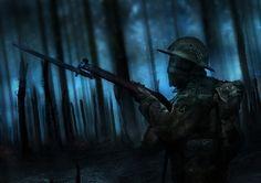 Fallen - Trooper, Oleg Danylenko on ArtStation at https://www.artstation.com/artwork/Y8bqd