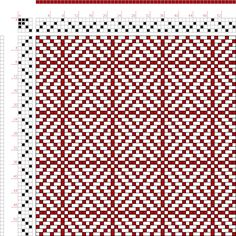 Weaving Draft Twill Squares 1, KB Original, U.S.A., 2005, #60937