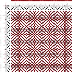 Weaving Draft Twill Squares 1, KB Original, U.S.A., 2005, #60937