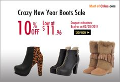 Mart of China - Huge Sale! Discount Womens Clothing, Huge Sale, Boots For Sale, Great Deals, Shop Now, Booty, China, Clothes, Free Shipping