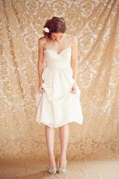 Celia Grace bridal collection — Tea dress
