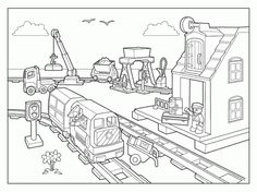lego city coloring pages to print enjoy coloring - Lego City Airplane Coloring Pages