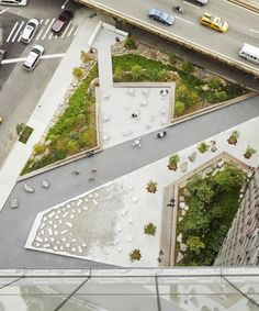 landscaping design First Avenue Water Plaza - SCAPE Landscape Plaza, Landscape And Urbanism, Landscape Design Plans, Landscape Architecture Design, Sustainable Architecture, Architecture Plan, Urban Landscape, Architecture Collage, Landscaping Design