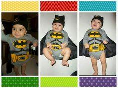 Batman bebé Fallout Vault, Batman, Fictional Characters, Costumes, Fantasy Characters
