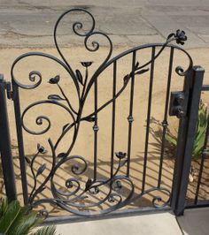 Custom Iron works! Great for a truly unique piece of functional art for your home!