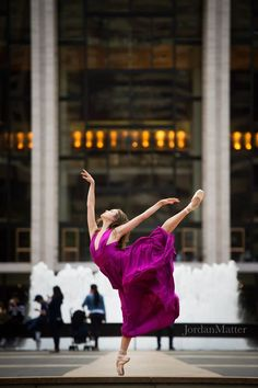 Happy World Ballet Day! (Then tombe, pas de bourree, chasse & tour jete!)