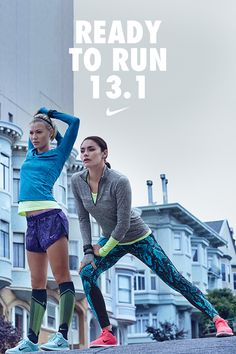 Ready to run 13.1. Stay focused on the finish line. #werunsf