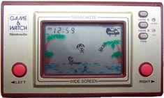 "The Nintendo ""Game & Watch"" games "" Good Old Times, The Good Old Days, My Childhood Memories, Sweet Memories, Vintage Games, Vintage Toys, Die Siebziger, Parachute Games, Retro Game"