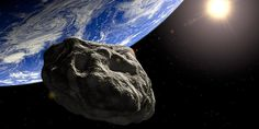 An asteroid gave Earth a close shave Sunday, just a day after astronomers first spotted the object