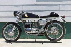 Transportation Old Historic Photo Of Australian Motorcycle Great Barry Smith Derbi 50 C1968