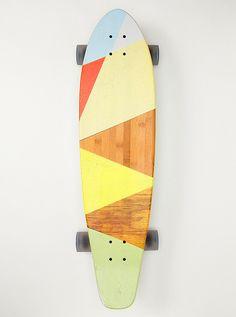 Front skateboard art