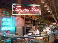 Incredible cakes - a must visit when in Philly - at the Reading Terminal Market!