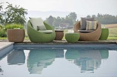 ANNY fotele wypoczynkowe STERN Outdoor Furniture Sets, Outdoor Decor, Furnitures, Objects, House, Home Decor, Home, Haus, Interior Design