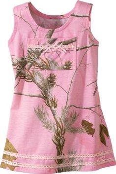 Cabela's: Cabela's Camo Infant/Toddler Girls' Dress
