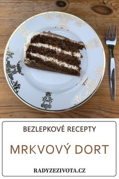 If you need some cake - you can try this one! It´s quick and ease to do. You have no chance to find out - it´s gluten-free cake. Gluten Free Carrot Cake, Gluten Free Recipes, Glutenfree, Carrots, French Toast, Breakfast, Easy, Desserts, Food