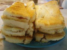 kaya butter toast @ Sun Yuan Loong coffee shop, Ipoh, Malaysia
