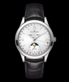 Jeager Le Coultre Master Calendar Stainless Steel Automatic Available at Cellini Jewelers