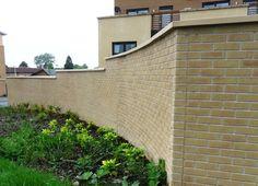GRP Brick Effect Curved Wall Panels - Seddons, Runcorn