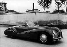 Alfa Romeo – 1940 Alfa Romeo 6C 2500 SS Cabriolet (Pinin Farina)
