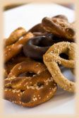 Uncle Jerry's has been bringing customers the healthy taste of sourdough for two decades. The original recipe for our scrumptious Pennsylvania Dutch pretzel, written 100 years ago, reads no sweeteners, no shortening, no oil, just the simple ingredients, and that is how we continue to make our pretzel. http://www.unclejerryspretzels.com/