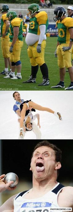 Funny sports pictures - 10 PHOTO!