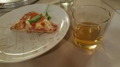 Pizza and whisky