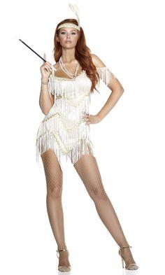 5e3018d7de5 Adult Jazzed Up Flapper Woman Costume