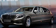At an incredible 21.3 feet, the Maybach Pullman is about 3 feet longer than the standard-size Mercedes Maybach and more than 4 feet longer than the regular S-Class it's based on.