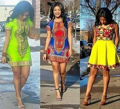 You'll wish it was spring/summer all year so you can wear this Dashiki African Print dress. The Dashiki is a famous South African print that has now started to trend worldwide. *Our dresses run small, African Inspired Fashion, African Print Fashion, Africa Fashion, Fashion Prints, Ankara Fashion, African Attire, African Wear, African Women, African Style