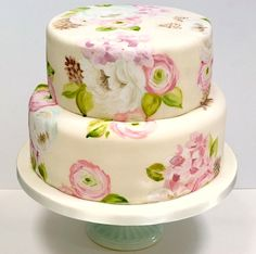 painted cakes- i love painting on cakes, hope i get another chance to do it soon