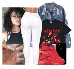 """"""""""" by eazybreezy305 ❤ liked on Polyvore featuring NIKE, cute, SimpleOutfits and 2017"""