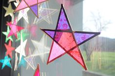 Making these beautiful stars with your kids is as easy as wishing upon one!