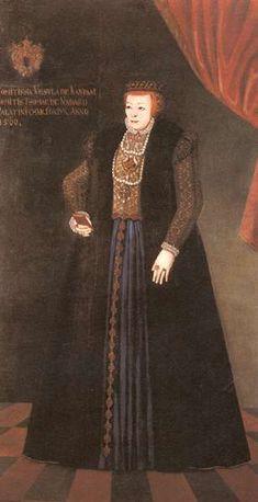 Orsolya Kanizsai, wife of Tamás Nádasdy. Hungarian National Museum, Budapest