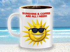 Sunshine and coffee :)