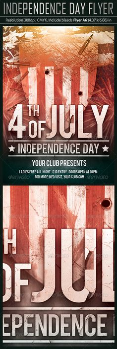 American Independence Flyer Template American independence - independence day flyer