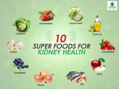 10 Kidney Super Foods