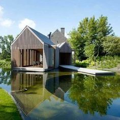 Floating Tiny House - Tiny House Designs - 10 Tiny Lake Houses - Bob Vila