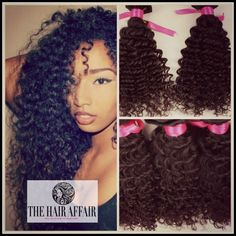 """Perfect way to add length to your braid out. 3a 3b 3c 4a curl. Clip-in Extensions - 12"""" - 18"""" Kinky Curly Wave Virgin Brazilian Human Hair - 100g - Natural Hair clip in hair."""